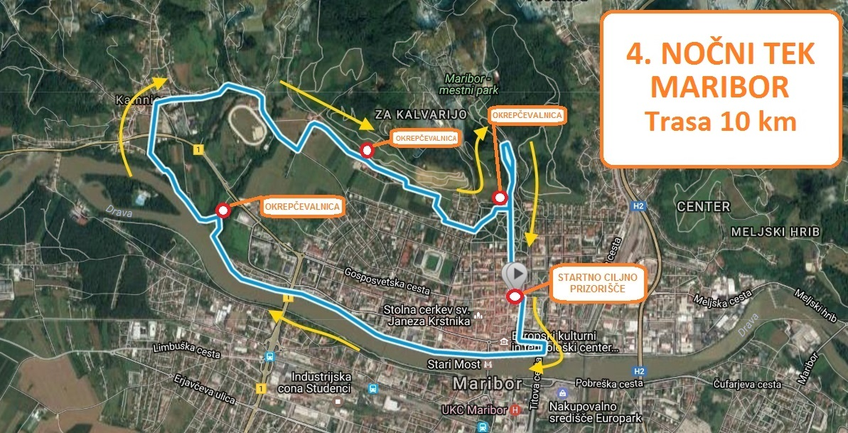 TRASA 10 km