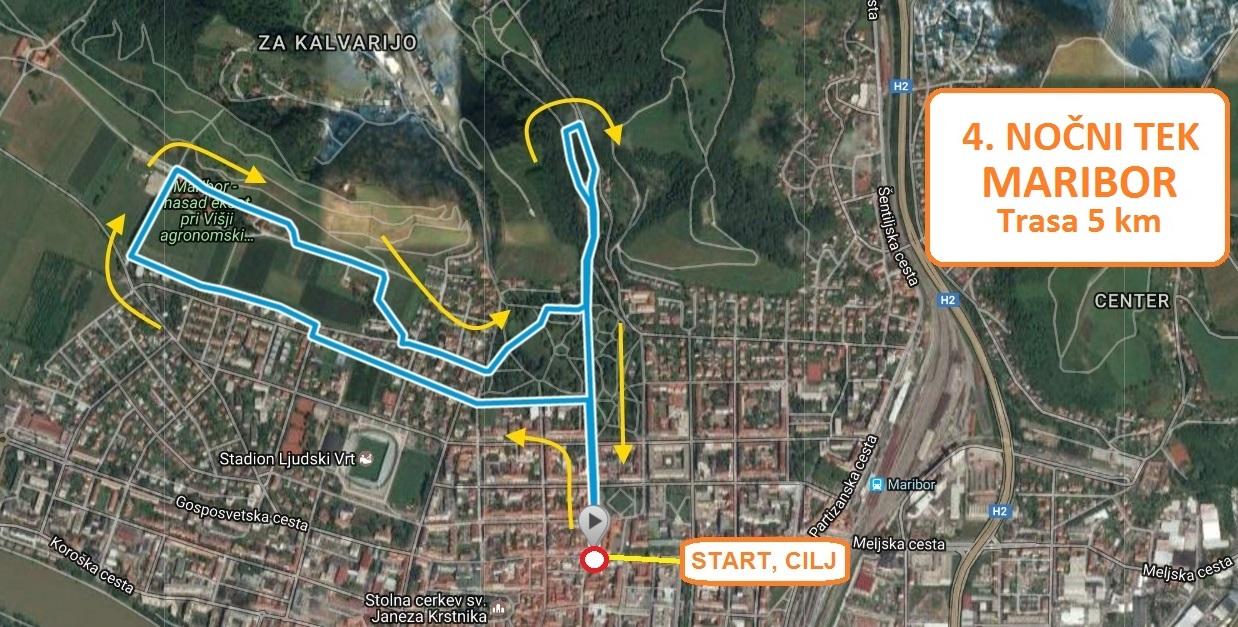 TRASA 5 km